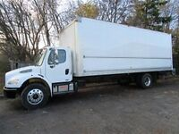 2012 Freightliner M2 diesel with 26 ft box
