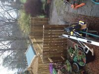 Garden tidy ups garden services fencing tree work etc gritting service
