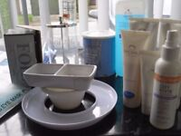 VARIOUS BEAUTY PRODUCTS FROM PROFFESSIONAL SALON,WAXING,FOILSMONU MASKS ECT.