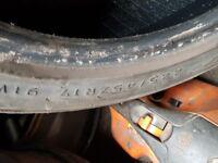 225/45/17 part worn tyre
