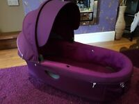 Stokke Crusi Carrycot - Purple £80