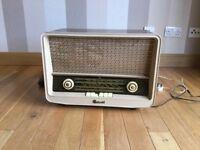 Old fashion valve radio.