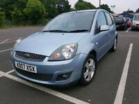 Ford fiesta zetec very low mileage 46000