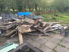 Free timber / firewood for wood burner or biomass