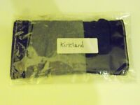 Mens Kirkland Boxer Briefs. 2 Pairs. 1 Black, 1 Grey. Size: Medium