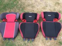 3 Graco car seat backs useful cover replacements