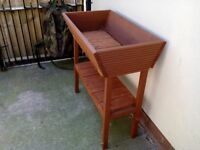 Raised garden planter ideal for people who cant bend down