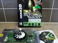 GeForce 9800 pci-e- 512mb AND WinFast PX7600 GS