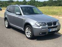 BMW X3 2.0 20d M Sport 5dr, 3 Months Warranty, Full Service History, Full Year MOT,Recently Serviced