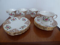 Bone China Colclough Tea Set – Pattern 6629