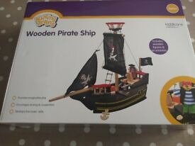 Brand new boxed pirate ship toy £8