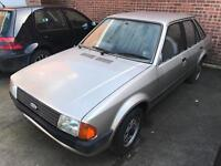 Ford escort 1300 l 1983 2 owners 74,000
