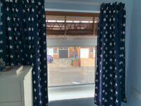 GLTC curtains, Blue star, Blackout, Kids