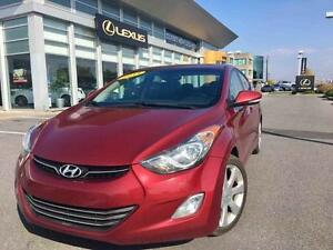 2013 Hyundai Elantra LIMITED/ TOIT / CUIR / CAMERA /NAV Low mile
