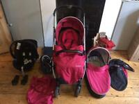 Oyster 2 Travel System Buggy