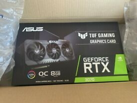 NVIDIA GeForce RTX 3070 ASUS TUF GAMING OC 8GB GDDR6