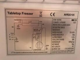 Table freezer