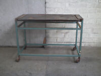 Used WORK BENCHES / STANDS. please see photos.PRICE FROM £15.00 to £40.00