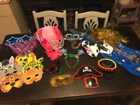 Wedding or party booth props