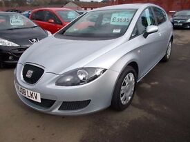 SEAT LEON*1.6*2008*LOW MILEAGE*NEW 12 MONTH MOT*VERY TIDY EXAMPLE*EXCELLENT VALUE AT *ONLY £2895*