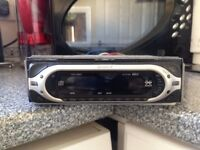 Sony CD Player in good condition with wires and cage.