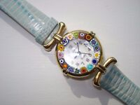 Pretty watch with pale blue strap