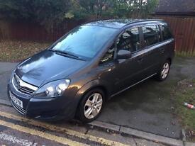 Vauxhall zafira 2013 ecoflex 1.7 CDTi exclusive