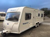 2008 Bailey ranger 6 berth fixed bed