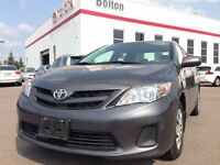 2013 Toyota Corolla CE- BLUETOOTH! HEATED SEATS! ONE OWNER! LOCA
