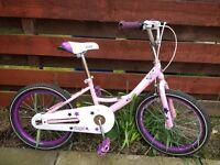Girls BIKE / bicycle pink purple