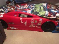 Boy racing car Bed