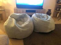 Two bean bags