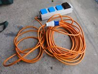 Electric Hook Up Camping Cable