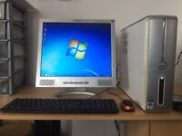 """Dell Inspiron 530S with 17"""" Monitor, 320GB Hard Drive, 2GB RAM, Keyboard, Mouse, Windows 7"""