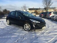 2010 PEUGEOT 308 SPORTIUM 1.6 PETROL- ONLY DONE 73K COMES WITH FULL YEAR MOT + 3 MONTH WARRANTY