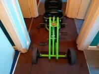 Kids pedal gokart
