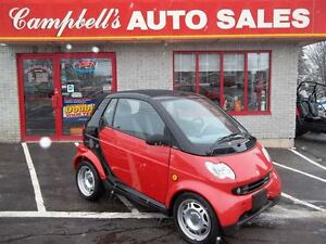 2006 smart fortwo CABRIOLET!! DIESEL!! POWER WINDOWS!! POWER LOC