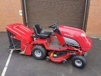 "COUNTAX C300H Ride on lawnmower Mower 36"" Cut Mulching Deck Honda 14hp V Twin Engine"