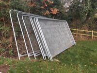 Heras style temporary site fencing