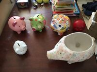 Collection of ornamental pigs