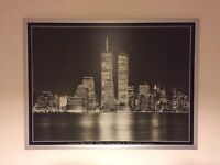 Large New York Twin Towers picture