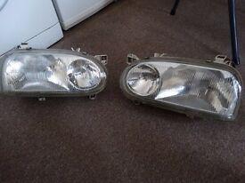 MK3 VW Golf GTI headlights