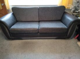 3 Seater and 2 seater settees.
