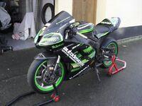 kawasaki zx6r track bike