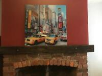 Glass New York large picture | wall art