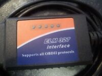 OBD ELM327 327 Interface USB Cable