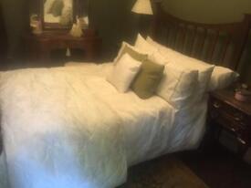Edwardian antique double bed