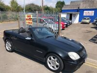 2001 51 MERCEDES SLK 230 KOMPRESSOR ** POWER FOLDING HARD TOP**HPI CLEAR