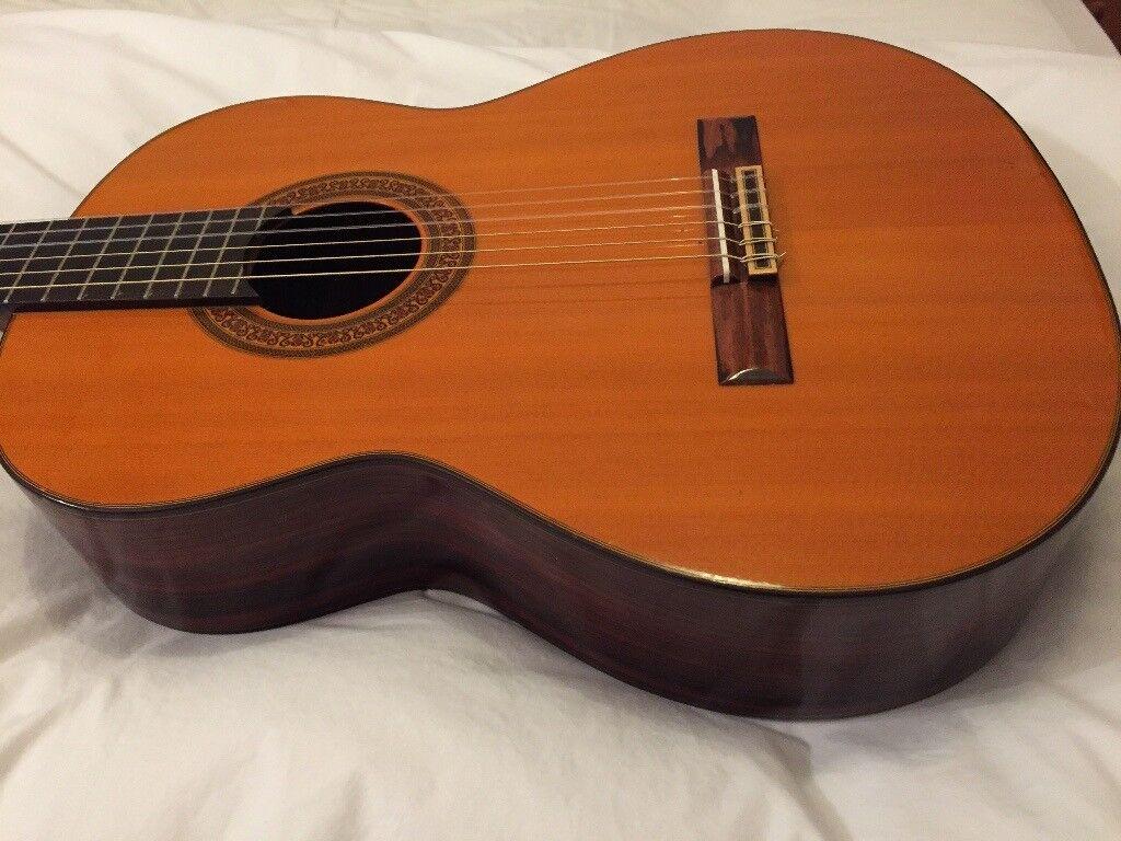 Terada 3046 Classical Guitar Vintage Made In Japan In