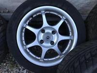 """15"""" 4 stud Peugeot alloys (exCel)"""